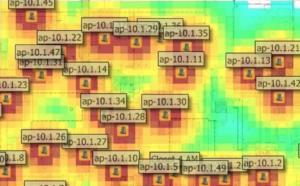 Wi-Fi AP Heat Map