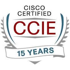 CCIE 15 Years