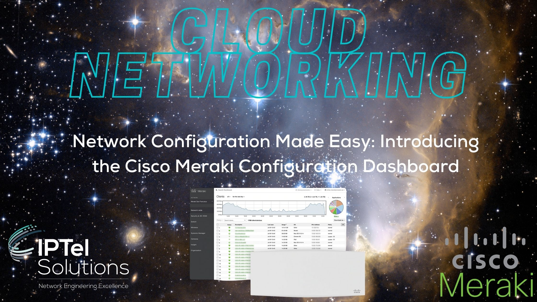 Meraki Cloud Networking