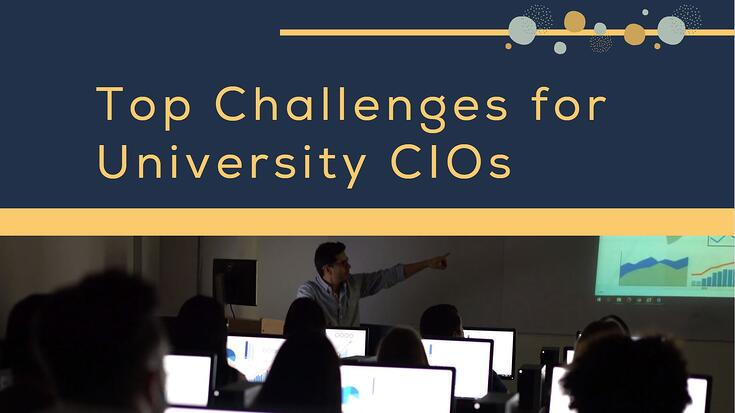 Top Challenges for Uni CIOs - Blog Banner