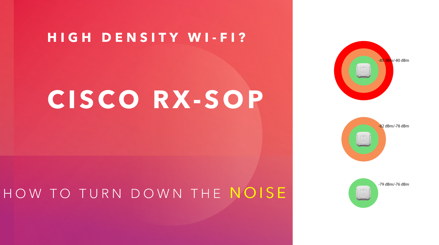 RX-SOP - Turn down the Noise